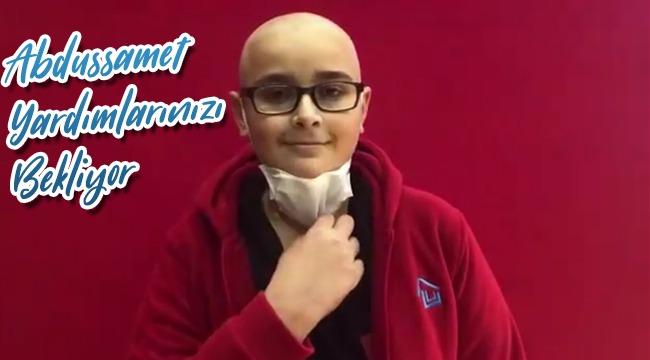 Lösemi Hastası Abdussamet Yardımlarınızı Bekliyor