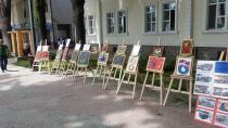 Abdurrahman Gürses İmam Hatip Ortaokulunun Açtığı Resim Sergisi İlgi Çekti