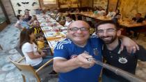 Hendek'te Fenerbahçe Taraftarları İftarda Birlikte