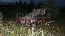 Hendek Tem Bağlantı Noktasında Kaza: 1 Ölü 9 Yaralı