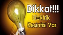 Hendek Genelinde 09.07.2016 Cumartesi Elektrik Kesilecek