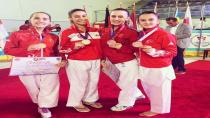 Hendek'li Karatecilerden 5 Madalya