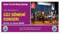 Hendek'te Türk Halk Müziği Konseri